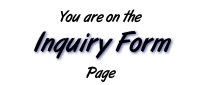 You are on the Inquiry Form page.